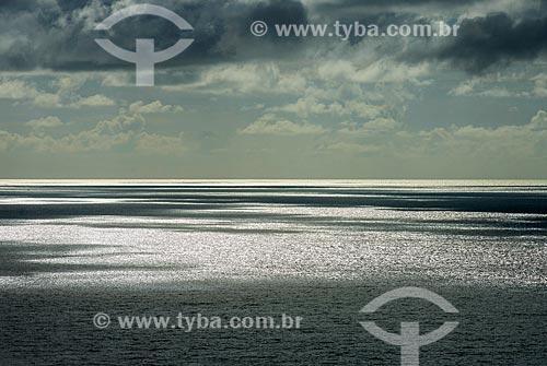 Vista para o mar na orla do distrito de Serra Grande  - Uruçuca - Bahia (BA) - Brasil