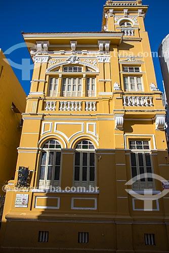 Antiga casa de Jorge Amado (1929) onde o escritor morou boa parte de sua vida - atual Fundação Cultural de Ilhéus  - Ilhéus - Bahia (BA) - Brasil