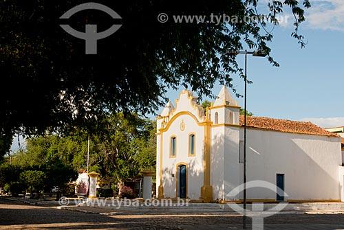 Antiga Capela de Senhor Bom Jesus dos Aflitos da Fazenda Grande, atual Igreja de Nossa Senhora do Rosário (1792)  - Floresta - Pernambuco (PE) - Brasil