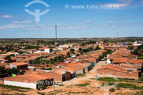Vista geral da cidade de Cedro  - Cedro - Pernambuco (PE) - Brasil
