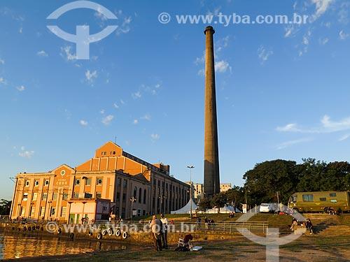 Centro Cultura Usina do Gasômetro (1928)  - Porto Alegre - Rio Grande do Sul (RS) - Brasil
