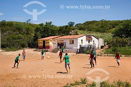 Futebol de várzea na zona rural de Jardim  - Jardim - Ceará (CE) - Brasil