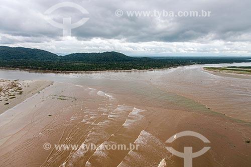 Foz do Mar Pequeno e do Rio Ribeira de Iguape  - Ilha Comprida - São Paulo (SP) - Brasil