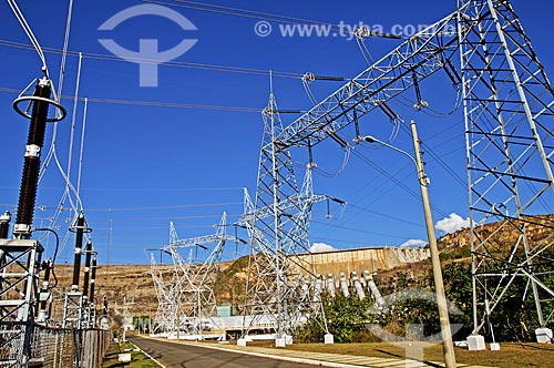 Subestação da Usina Hidrelétrica de Furnas  - São José da Barra - Minas Gerais (MG) - Brasil