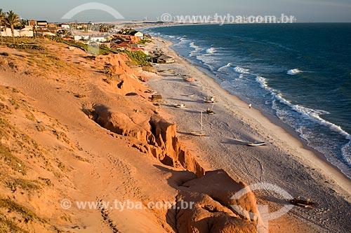 Orla da Praia de Canoa Quebrada  - Aracati - Ceará (CE) - Brasil