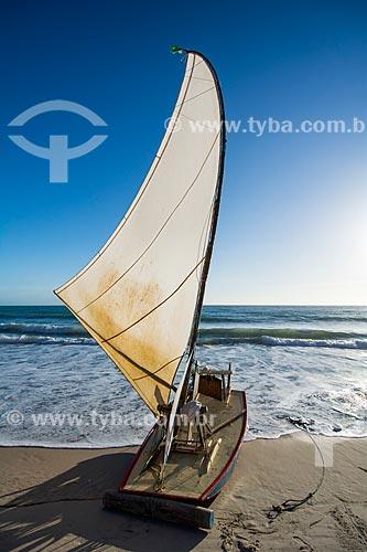 Jangada na Praia de Canoa Quebrada  - Aracati - Ceará (CE) - Brasil