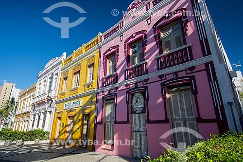 Casarios no Centro Cultural Dragão do Mar de Arte e Cultura  - Fortaleza - Ceará (CE) - Brasil
