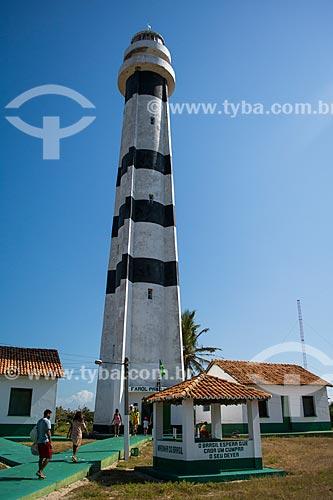 Farol de Preguiças (1940) - também conhecido como Farol de Mandacarú  - Barreirinhas - Maranhão (MA) - Brasil
