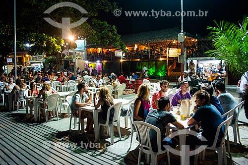 Restaurantes no deck do Rio Preguiças  - Barreirinhas - Maranhão (MA) - Brasil