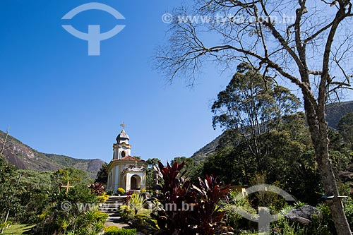 Capela de Nosso Senhor do Bonfim - próximo ao Parque Nacional da Serra dos Órgãos  - Petrópolis - Rio de Janeiro (RJ) - Brasil