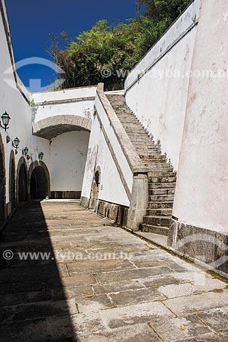 Interior da Forte São José na Fortaleza de São João (1565)  - Rio de Janeiro - Rio de Janeiro (RJ) - Brasil