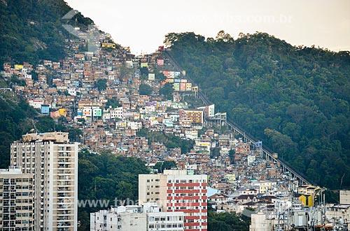 Favela Santa Marta  - Rio de Janeiro - Rio de Janeiro (RJ) - Brasil