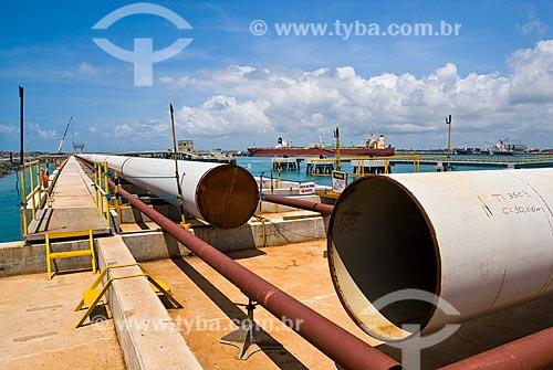 Terminal petrolífero do Complexo Portuário de Suape  - Ipojuca - Pernambuco (PE) - Brasil