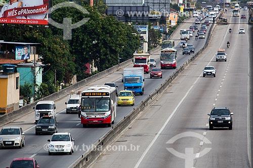 Rodovia Presidente Dutra também conhecida como Via Dutra na altura do Km 05  - Mesquita - Rio de Janeiro (RJ) - Brasil
