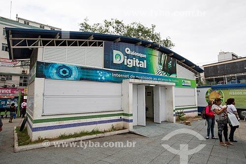 Quiosque digital  - São João de Meriti - Rio de Janeiro (RJ) - Brasil