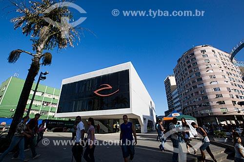 Biblioteca Municipal Governador Leonel de Moura Brizola - Centro Cultural Oscar Niemeyer  - Duque de Caxias - Rio de Janeiro (RJ) - Brasil