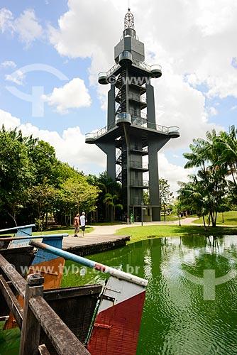 Farol de Belém no Parque Ambiental Mangal das Garças  - Belém - Pará (PA) - Brasil