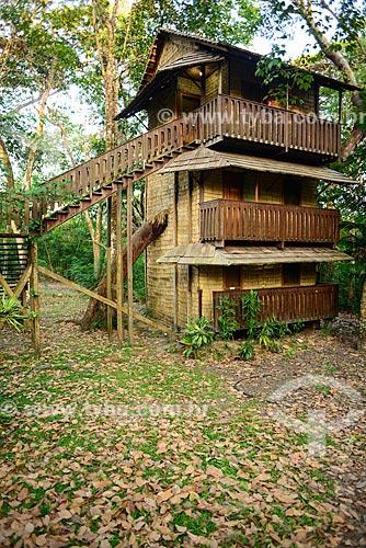 Chalé do Hotel Beloalter - conhecido como casa na árvore  - Santarém - Pará (PA) - Brasil