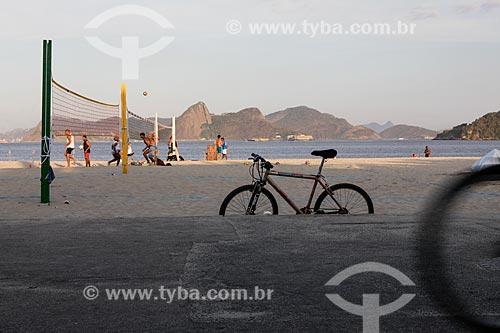 Vista da orla da Praia do Flamengo  - Rio de Janeiro - Rio de Janeiro (RJ) - Brasil