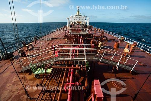 Navio petroleiro Maisa na rota Rio-Buenos Aires  - Rio Grande do Sul (RS) - Brasil