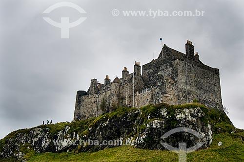 Vista do Castelo Duart na Mull Island (Ilha de Mull)  - Highland - Escócia
