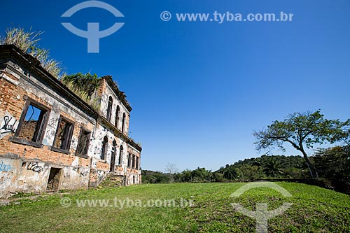 Ruínas da Fazenda São Bernardino  - Nova Iguaçu - Rio de Janeiro (RJ) - Brasil