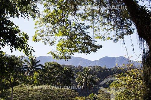 Vista da Serra do Macuco  - Nova Iguaçu - Rio de Janeiro (RJ) - Brasil