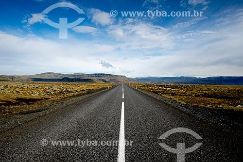 Ring road - principal estrada da Islândia  - Southern Region - Islândia