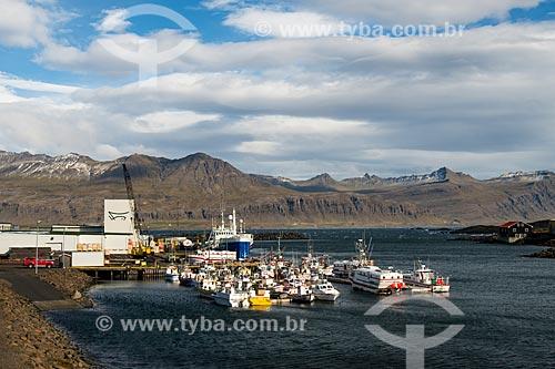 Porto da cidade de Höfn  - Höfn - Austurland - Islândia