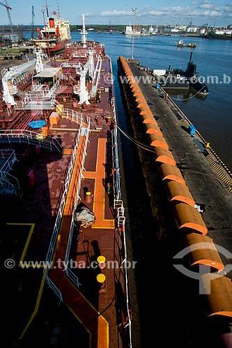 Içamento do Navio Maísa no syncrolift do Estaleiro Tandanor  - Buenos Aires - Província de Buenos Aires - Argentina