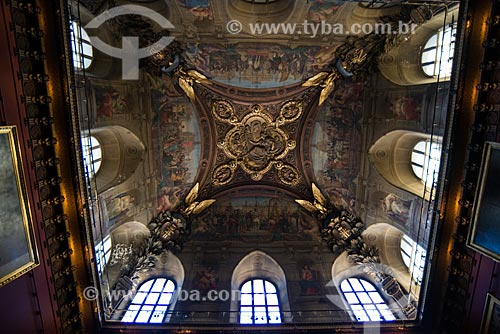 Detalhe do teto do Musée du Louvre (Museu do Louvre)   - Paris - Paris - França
