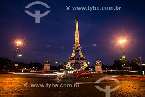 Vista da Torre Eiffel (1889)  - Paris - Paris - França