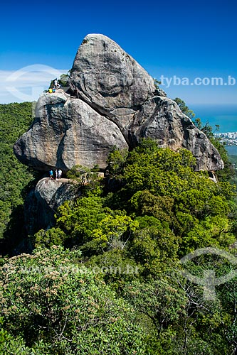 Rappel no Bico do Papagaio - Parque Nacional da Tijuca  - Rio de Janeiro - Rio de Janeiro (RJ) - Brasil