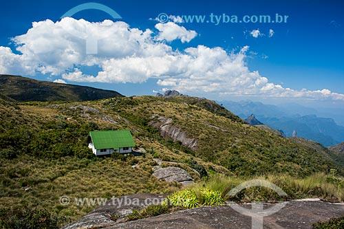 Abrigo do Açu no cume do Morro do Açu  - Petrópolis - Rio de Janeiro (RJ) - Brasil