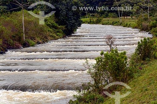 Sistema de Transposição de Peixes (STP) próximo à Usina Hidrelétrica Itaipu Binacional  - Foz do Iguaçu - Paraná (PR) - Brasil