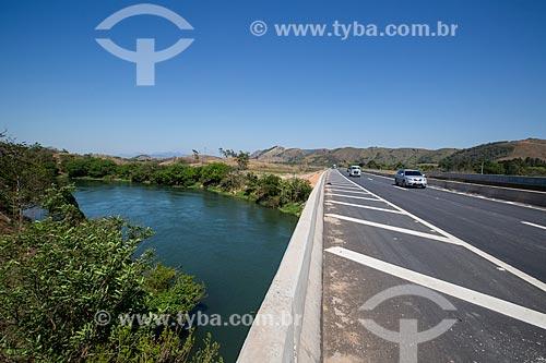 Ponte do Arco Metropolitano sobre o Rio Guandu  - Japeri - Rio de Janeiro (RJ) - Brasil