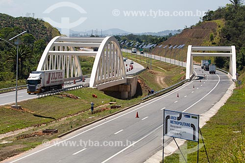 Trecho do Arco Metropolitano próximo à Duque de Caxias  - Duque de Caxias - Rio de Janeiro (RJ) - Brasil