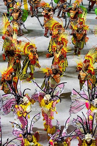 Desfile do Grêmio Recreativo Escola de Samba Acadêmicos do Grande Rio - Enredo 2014 - Verdes olhos de maysa sobre o mar, no caminho: Maricá  - Rio de Janeiro - Rio de Janeiro (RJ) - Brasil