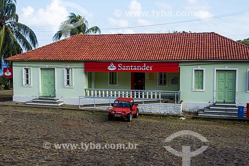 Agência do Banco Santander  - Fernando de Noronha - Pernambuco (PE) - Brasil