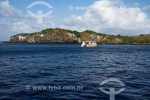 Vista da Ilha da Rata  - Fernando de Noronha - Pernambuco (PE) - Brasil