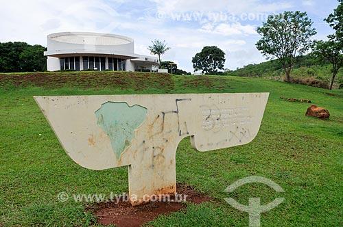 Memorial JK no Parque Ecológico JK - local onde em 4 de abril de 1955 o então candidato Juscelino Kubitschek assumiu pela primeira vez o compromisso de construir Brasília  - Jataí - Goiás (GO) - Brasil