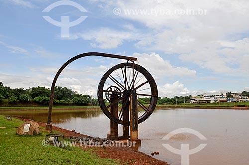 Roda de água no Parque Ecológico JK  - Jataí - Goiás (GO) - Brasil