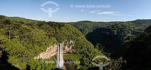 Vista da Cascata do Caracol  - Canela - Rio Grande do Sul (RS) - Brasil