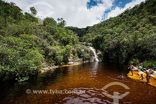 Cachoeira dos Macacos no Parque Estadual do Ibitipoca  - Lima Duarte - Minas Gerais (MG) - Brasil