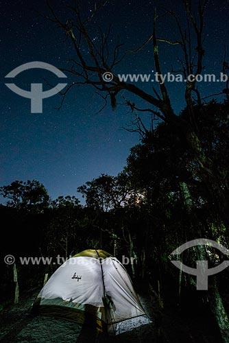 Camping no Parque Estadual do Ibitipoca  - Lima Duarte - Minas Gerais (MG) - Brasil