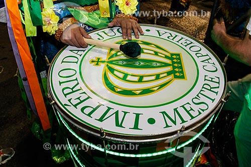 Desfile do Grêmio Recreativo Escola de Samba Império da Tijuca - Bateria - Enredo 2014 - Batuk  - Rio de Janeiro - Rio de Janeiro (RJ) - Brasil