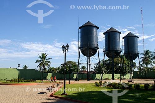 Praça das Três Caixas DAgua  - Porto Velho - Rondônia (RO) - Brasil