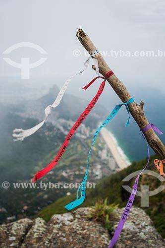 Homenagem os mortos na Pedra da Gávea  - Rio de Janeiro - Rio de Janeiro (RJ) - Brasil