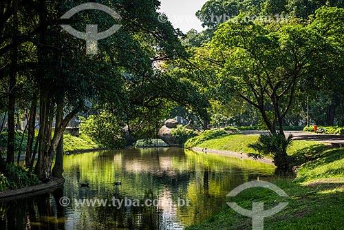 Lagoa do Campo de Santana  - Rio de Janeiro - Rio de Janeiro (RJ) - Brasil