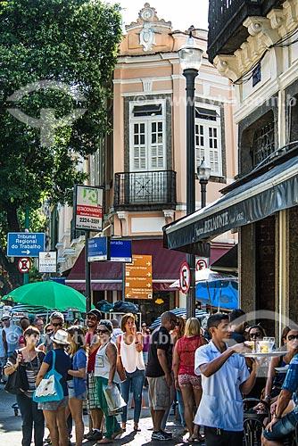 Bares na esquina da Rua do Lavradio com a Avenida Mem de Sá  - Rio de Janeiro - Rio de Janeiro (RJ) - Brasil